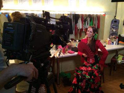TV - Aufzeichnung für VOX mit La Cati