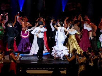 Fiesta flamenca der Flamencoakademie