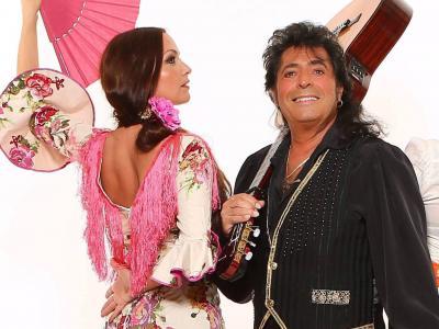 La Cati con Rafael de Alcalá