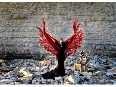 Flamenco Workshop con mantón im tanzhaus NRW